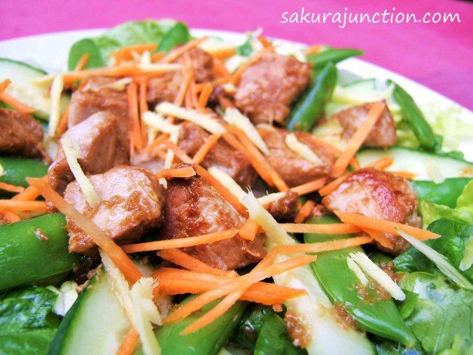 Ginger Pork Salad