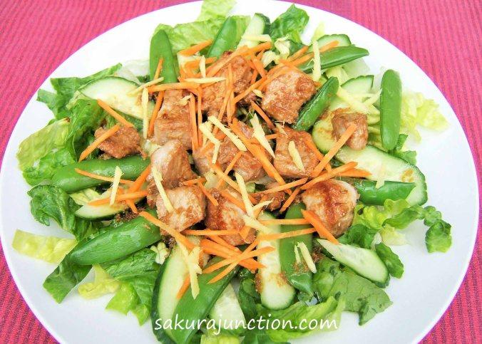 Ginger Porl Salad2