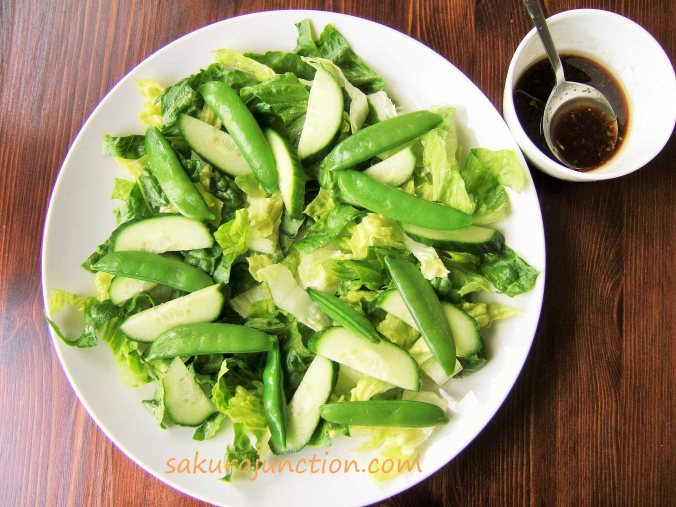 Salad prepared