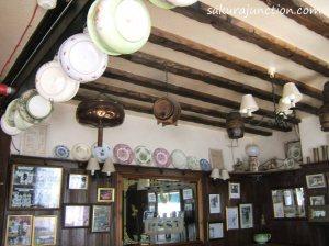 Pub ceiling