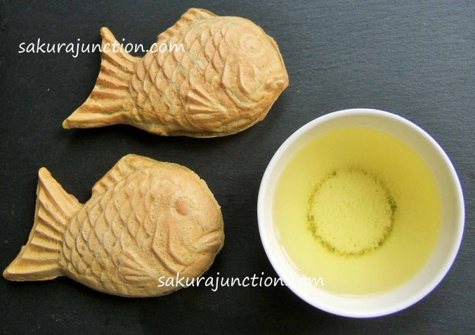 Two fish with tea