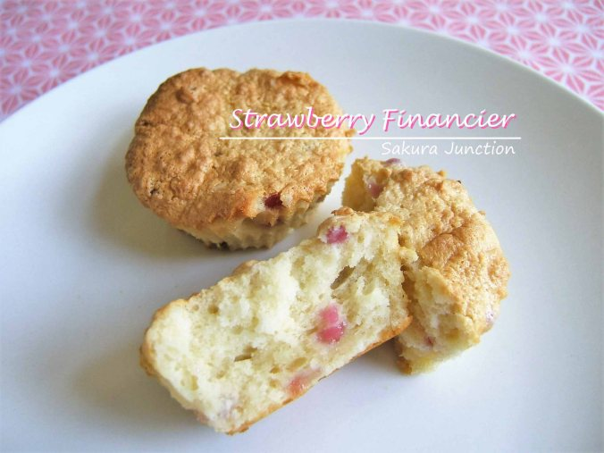 Strawberry Financier 3 P