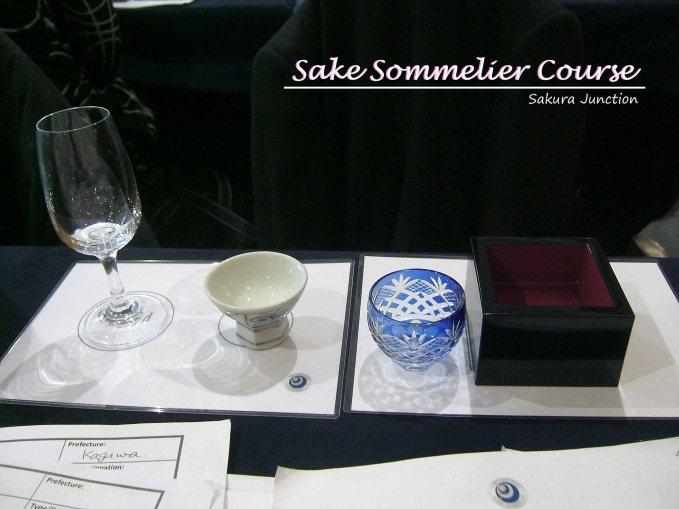 Sake in different temperature