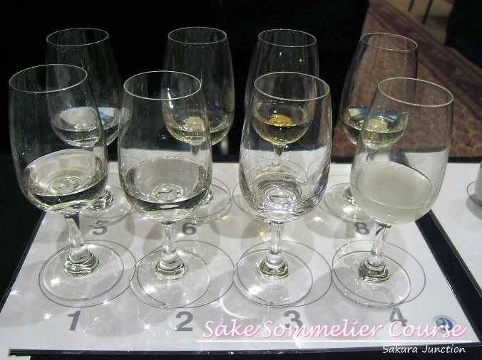 Tasting Sake