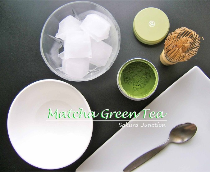 Iced Matcha preparation 2