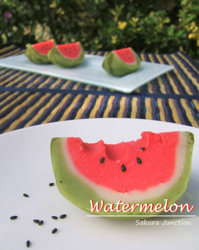 Suika Watermelon eaten 1