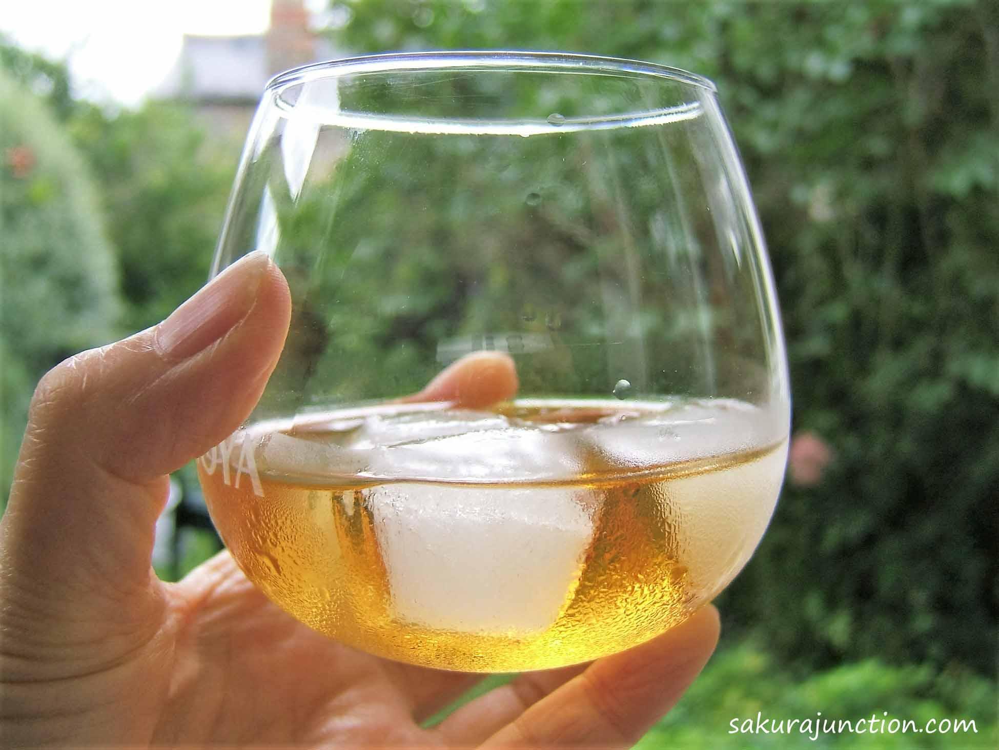 Umeshu in glass