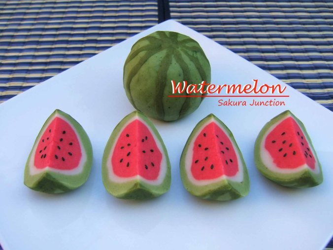 Watermelon Suika side