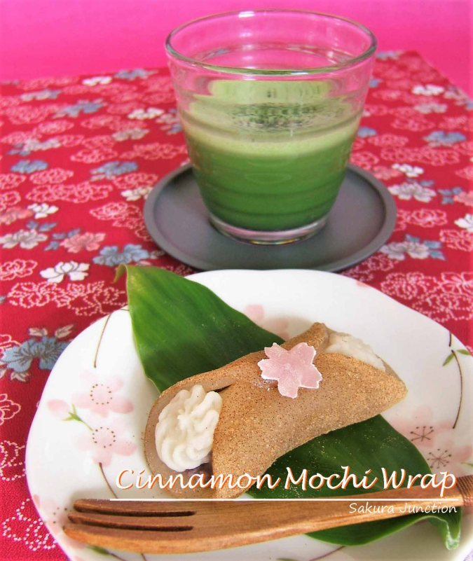 cinnamon-mochi-wrap-yatsuhashi-with-tea