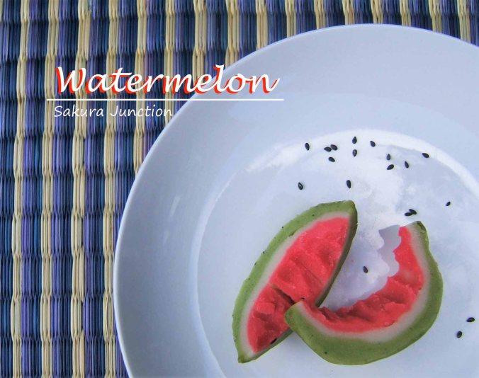 Suika Watermelon skin