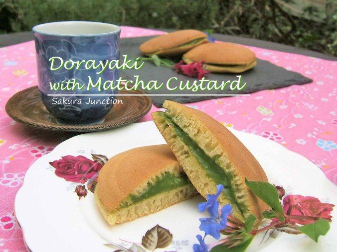 dorayaki-with-matcha-custard