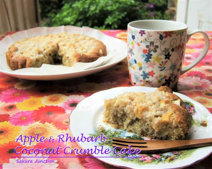 Apple & Rhubarb Crumble Cake2-2