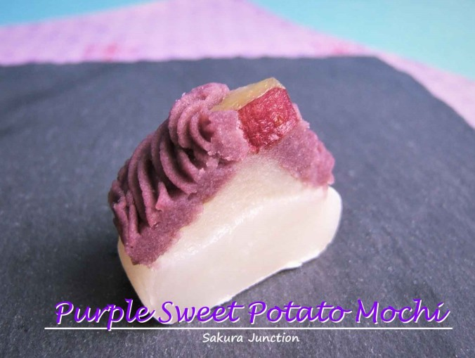 Purple Sweet Potato Mochi 2 trimed