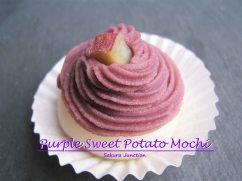 Purple Sweet Potato Mochi 5