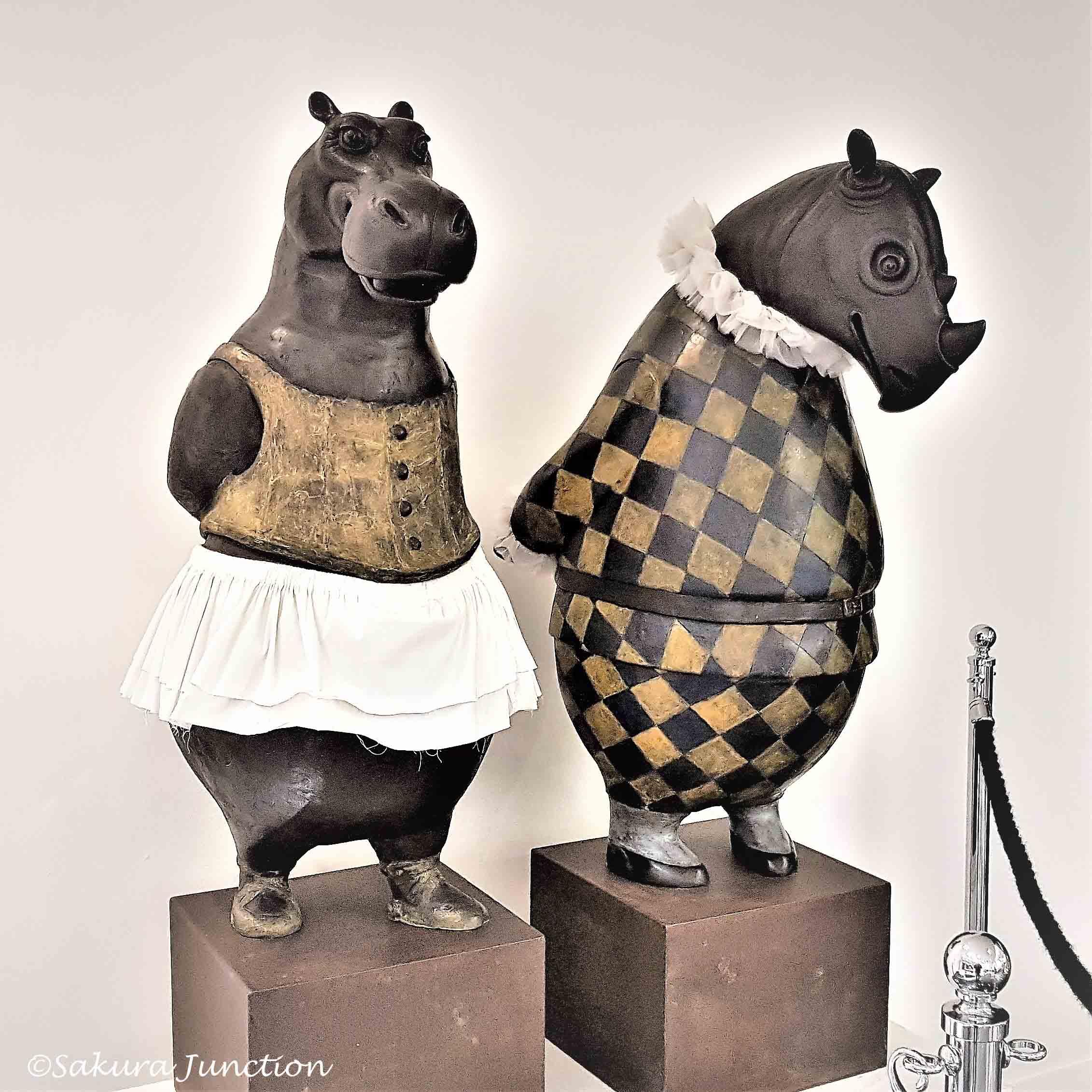 Mr Rhino & Mrs Hippo