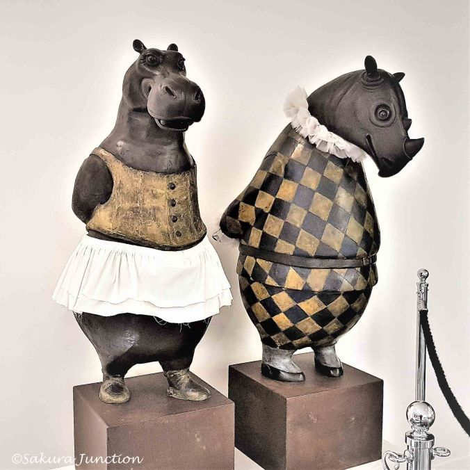 Mr Rhino & Mrs Hippo