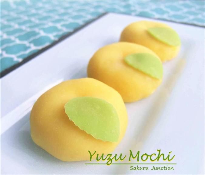 Yuzu Mochi 6