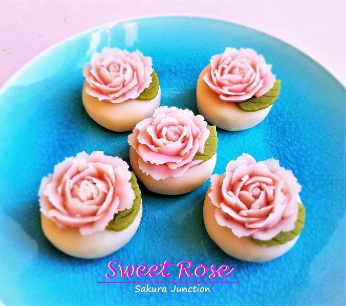 Rose Japanese Sweets Wagashi London