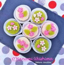 hanami Ukishima Japanese sweets London
