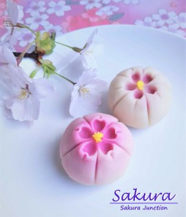 Sakura Wagashi Japanese sweets London