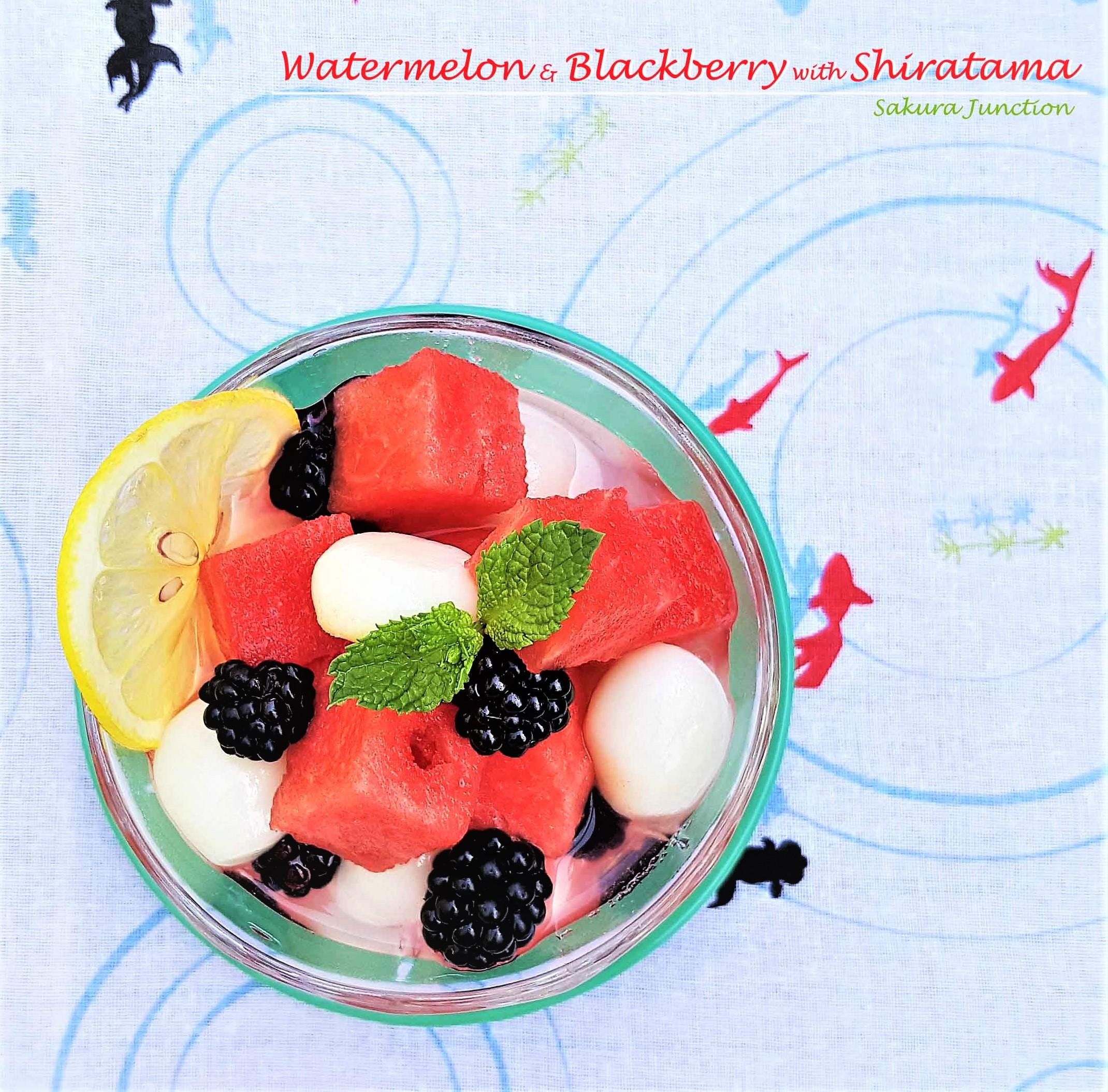 Watermelon & shiratama4