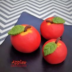 Apple Wagashi Japanese sweets dessert food London