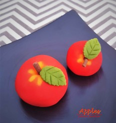 Apple Wagashi Japanese sweets dessert food London
