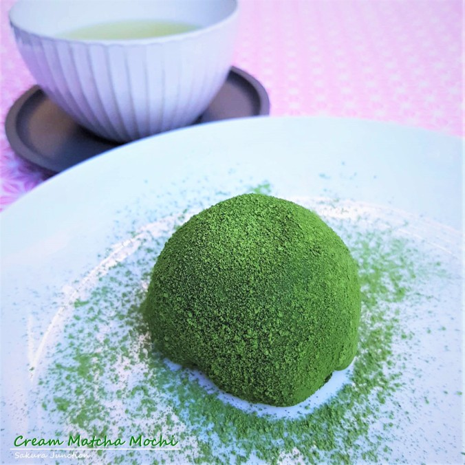 Cream Matcha Mochi 1