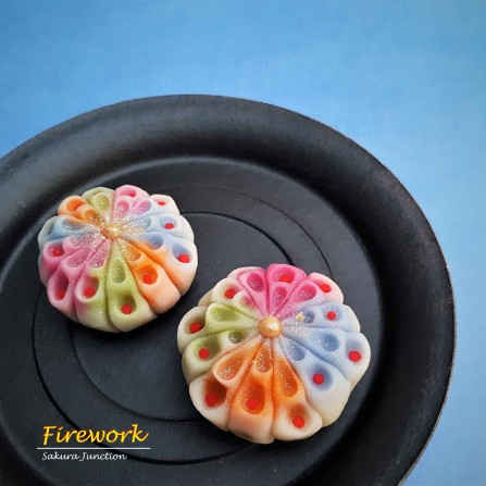 Firework Wagashi Japanese sweets food dessert london