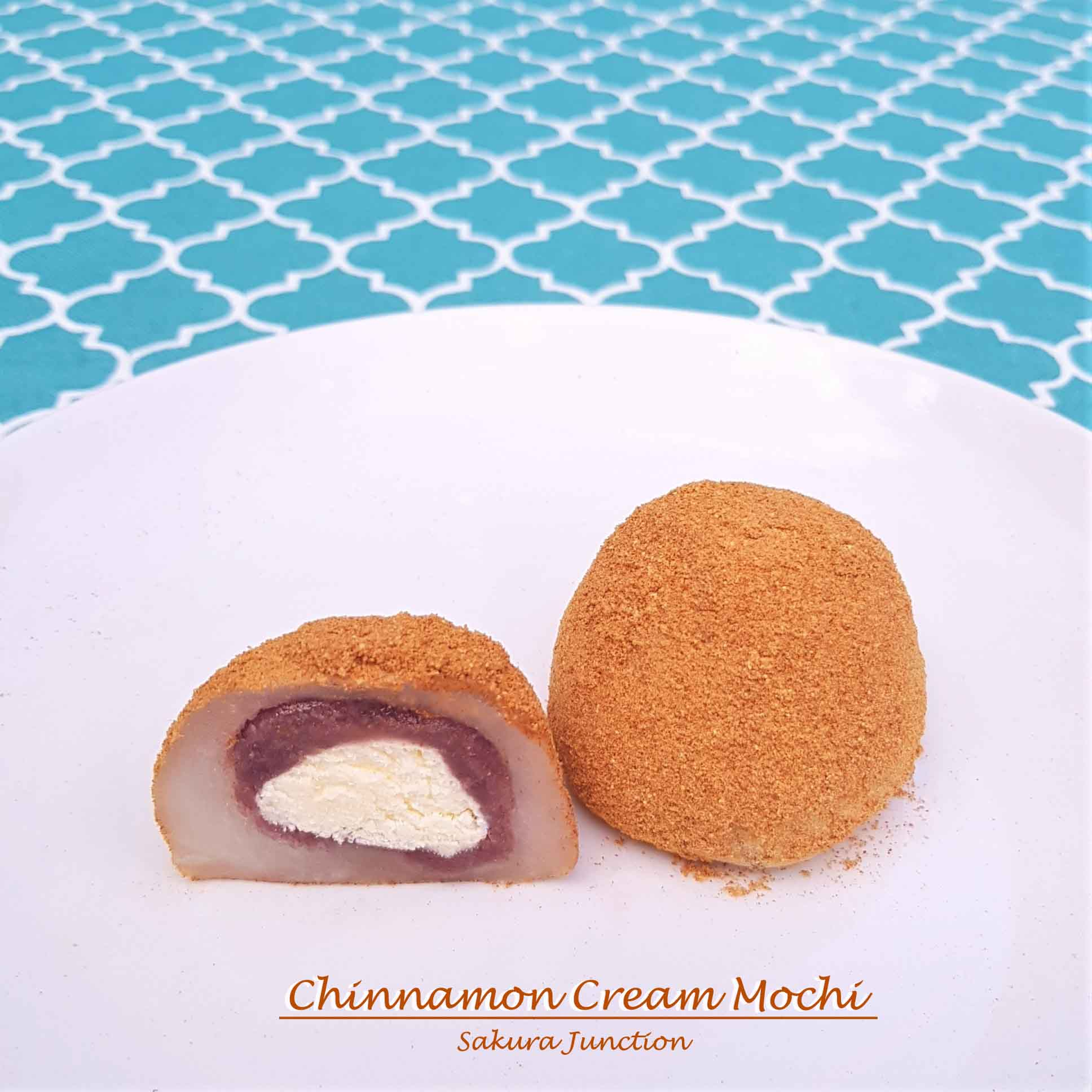 Cinnamon Cream Mochi