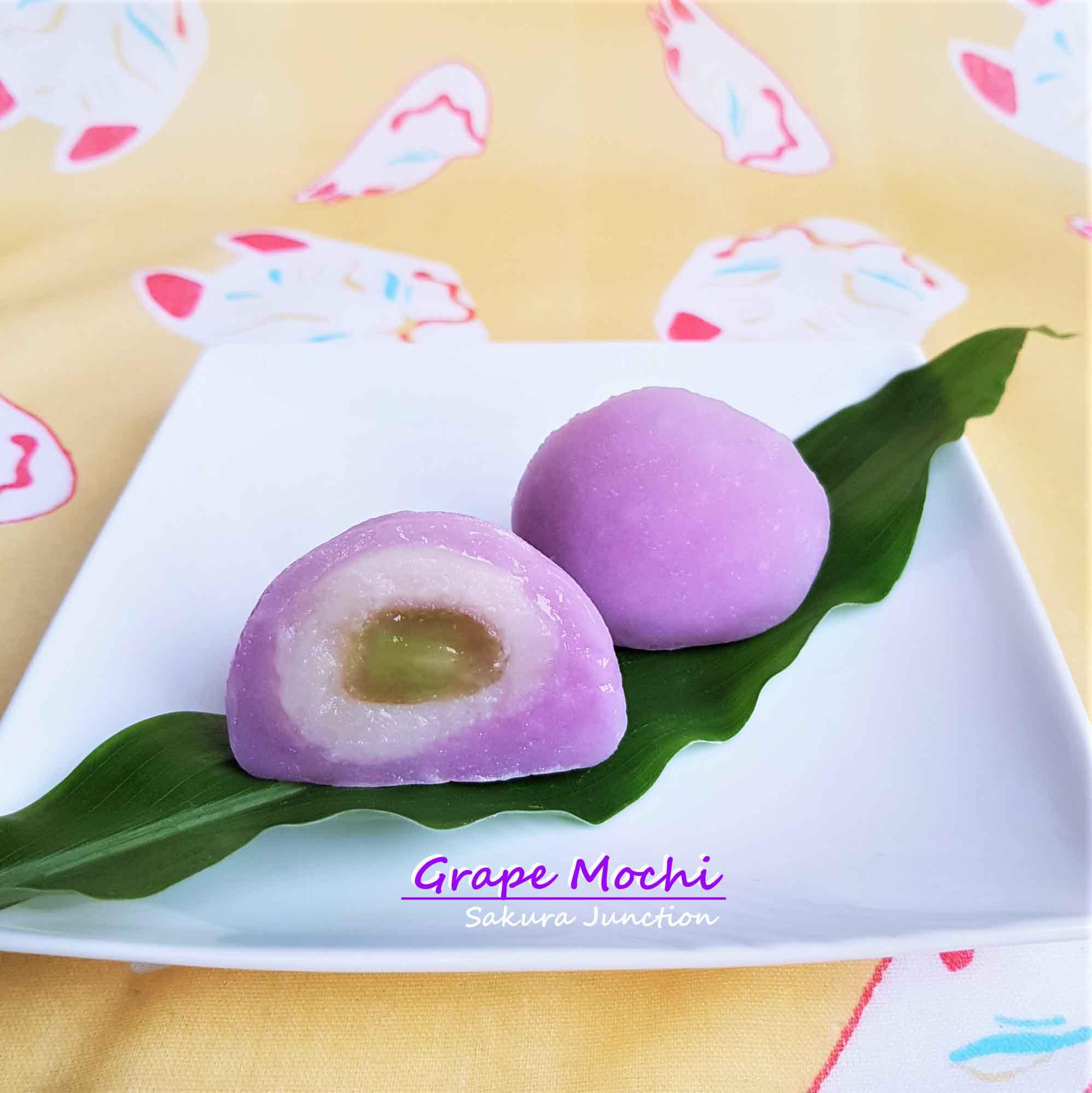 Grape Mochi